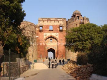 purana quila old fort
